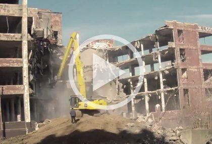 Powell Square Demolition