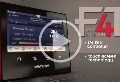 Watlow: F4T Product Launch