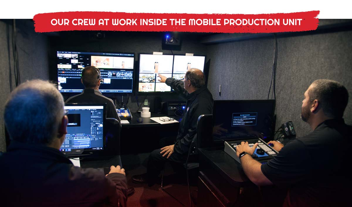 Silverback Video - Inside the Mobile Production Unit
