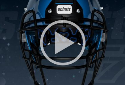 Schutt F7 Helmet Animation
