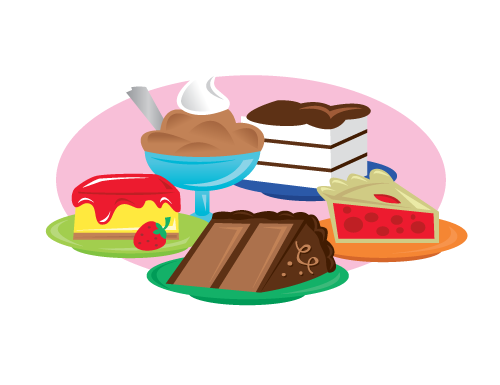 Manor Groves Just Desserts Logo