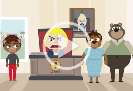 Goldilocks and the Three ATM Solutions 2D Character Animation